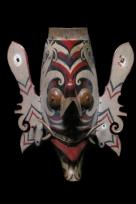 HORNBILL AND DRAGON MASK -TOPENG HUDOQ