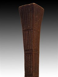 19TH C. FIJIAN POLE CLUB